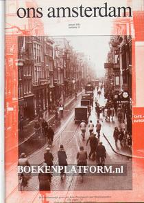Ons Amsterdam 1983 Ingebonden met originele band