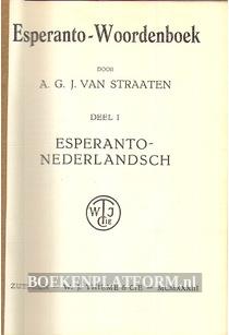 Esperanto-Woordenboek 1