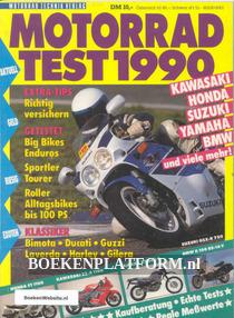 Motorrad test 1990
