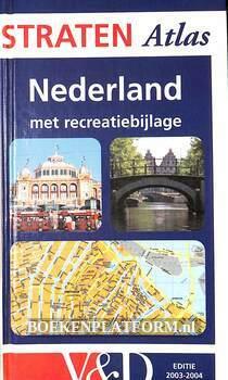 Stratenatlas Nederland met recreatiebijlage