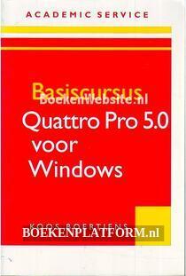 Basiscursus Quattro Pro 5.0 voor Windows