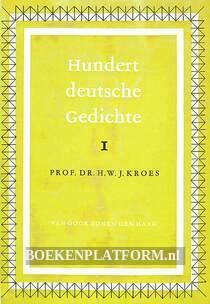 Hundert deutsche Gedichte I