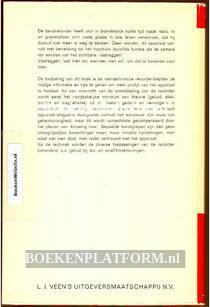 Bandrecorder boek