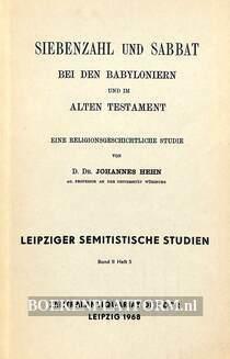 Siebenzahl und Sabbat