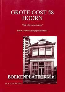Grote Oost 58 Hoorn