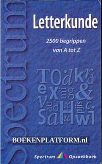 Letterkunde van A tot Z