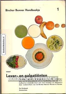 Bircher Benner Handboekje voor Lever- en galpatienten