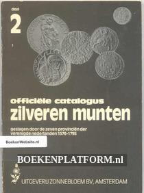 Officiele catalogus Zilveren munten dl.2