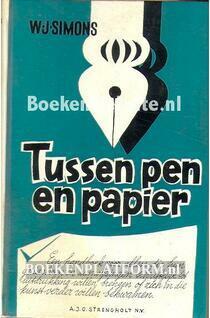 Tussen pen en papier