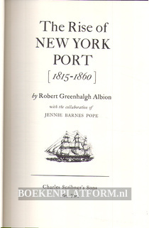 The Rise of New York Port 1815-1860