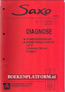 Citroen Saxo, Diagnose-gereedschap