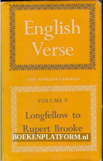 Longfellow to Rupert Brooke