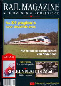 Rail Magazine, Spoorwegen en Modelspoor jaargang 2000