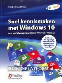 Snel kennis maken met Windows 10