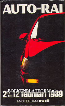 Catalogus Auto-Rai 1989