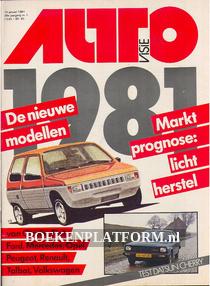 Autovisie 1981 Complete jaargang