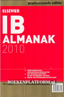 Elsevier IB Almanak 2010