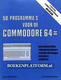 50 programma's voor de Commodore 64
