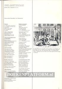 Ons Amsterdam 1972 Ingebonden met originele band