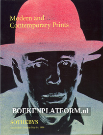 Modern and Contemporary Prints 1996