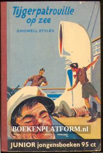 Tijgerpatrouille op zee