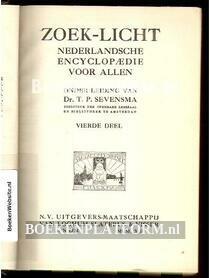 Zoek-licht Nederlandsche encyclopaedie voor Allen 4