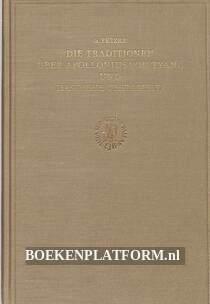 Die Traditionen über Apollonius von Tyna und das neue testament