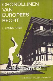 Grondlijnen van Europees recht