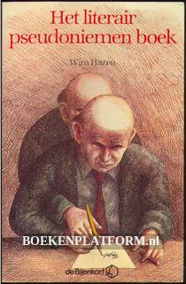 Het literair pseudoniemen boek