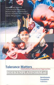 Tolerance Matters