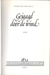 Gejaagd door de wind Omnibus