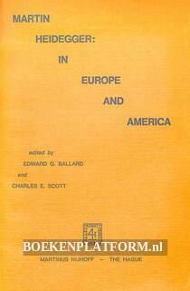 Martin Heidegger in Europe and America