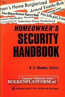 Homeowner's Security Handbook