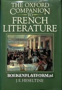 The Oxford Companion to French Literature
