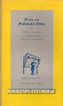 Pers en Politieke Elite