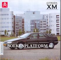 Citroen XM 1991 2.0i brochure