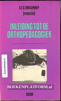 Inleiding tot de Ortho pedagogiek