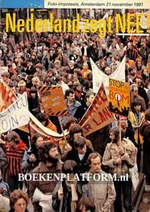 Nederland zegt NEE!