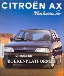 Citroen AX Thalassa 1993 brochure