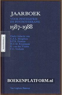 Jaarboek voor psychiatrie en psychotherapie 1987-1988