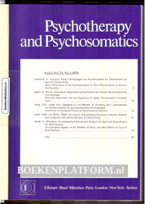 Psychotherapy and Psychosomatics 1974