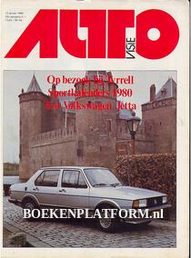 Autovisie 1980 Complete jaargang