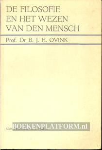 De filosofie en het wezen van den Mensch
