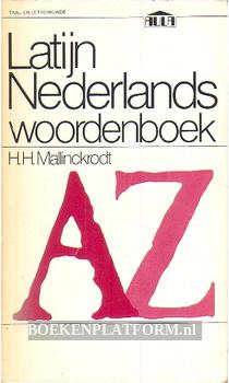 Latijn Nederlands woordenboek