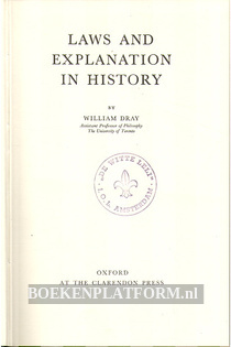 Laws and Explanation in History