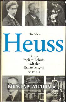 Theodor Heuss, Bilder meines Lebens