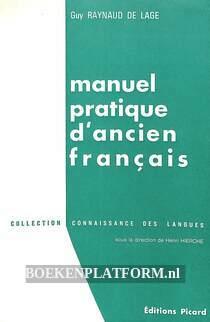 Manuel pratique d'acien francais II