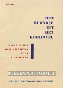 Het blondje uit het Kurhotel