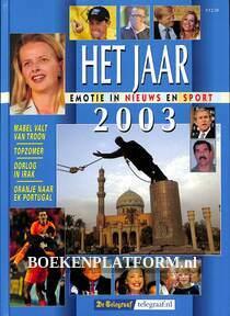 Het jaar 2003