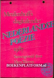 Meulenhoff's dagkalender Nederlandse poëzie 1987